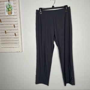 IC By Connie K Legging Crop Pants Elastic Waist L
